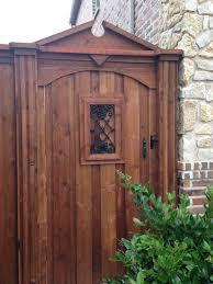 Pin On Wood Gates