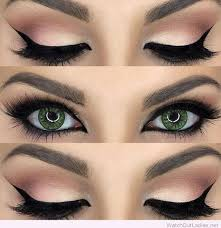 looks for green eyes makeup tutorial