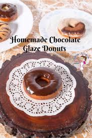 best fried chocolate glazed donuts
