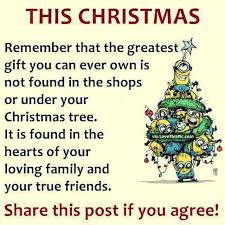 christmas minion quote about family and friends pictures photos