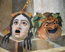 Mosaic_depicting_theatrical_masks_of_Tragedy_and_Comedy_( ...
