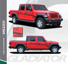 Jeep Gladiator Body Decals Jeep Gladiator Door Stripes Mezzo Sides