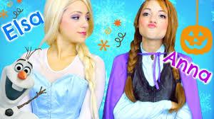 frozen anna s makeup look saubhaya makeup
