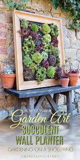 diy succulent wall planter empress of