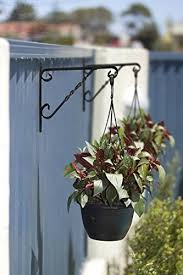 Amagabeli Hanging Plants Bracket 12 Wall Planter Hook Flower Pot Bird Feeder Wind Chime Lanterns Hanger Patio Lawn Flower Pot Hanger Flower Pot Ideas Sale In Germany Usa