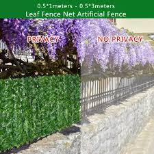 Kl Artificial Leaf Screening Roll Uv Fade Protected Privacy Hedging Wall Landscaping Garden Fence Balcony Screen Lazada Ph