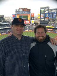 Royalty Tours USA: Royalty meets up with Kurt Smith, author of Ballpark  E-Guides at Citi Field!