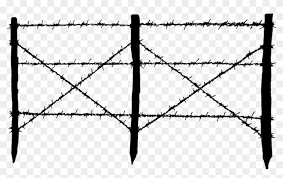 Garden Wire Mesh Png Transparent Barb Wire Fence Transparent Png Download 1024x597 157901 Pngfind
