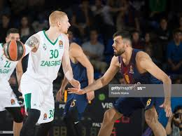 Aaron White, #30 of Zalgiris Kaunas in action during the 2017/2018 ...