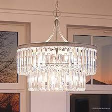 luxury crystal pendant light medium