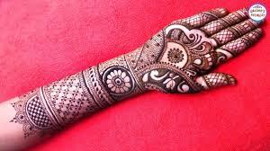 mehndi designs in bridal hand