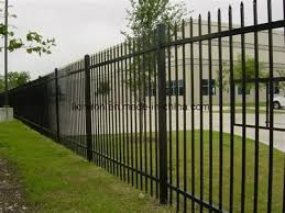 China Simple Design Cheap Steel Iron Galvanized Fence China Steel Fence Diy Fence