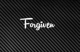 Forgiven Decal Sticker God Christian Religious Jesus Car Window Christ Pray Lord Ebay