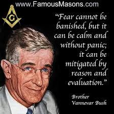 Brother Vannevar Bush | Famous freemasons, Freemason secrets, Masonic  symbols