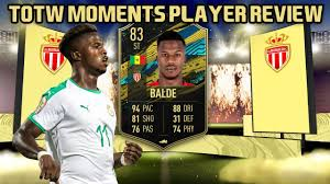 THE MOST UNDERRATED STRIKER! 83 TOTW MOMENTS KEITA BALDE PLAYER REVIEW! FIFA  20 Ultimate Team - YouTube
