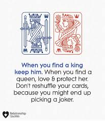 when you a king keep him when you finda queen love protect