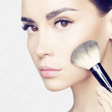 face makeup stock photo korobkova