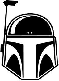 Amazon Com 6127b Star Wars Boba Fett Black Vinyl Decal For Bumpers Windows Laptops Or Any Smooth Surface Computers Accessories