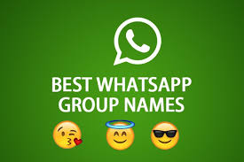 cool whatsapp group names ideas for you