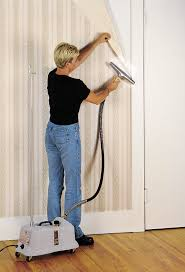remove wallpaper using a jiffy steamer