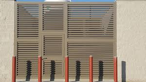 Louvered Panels Divide And Protect Astro Metal Craft