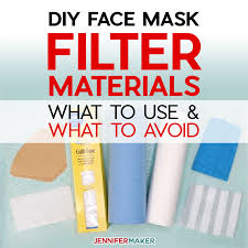 DIY Face Mask Filter Materials: What to ...
