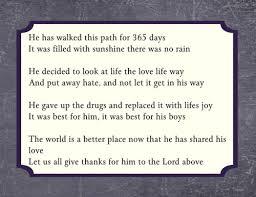sobriety anniversary poems