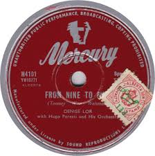78 RPM - Denise Lor - Our Future Has Only Begun / From Nine To ...