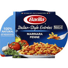 italian style entrees marinara penne