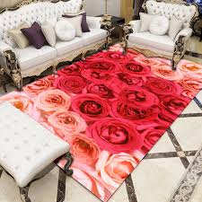 3d Floral Pattern Carpets For Living Room Bedroom Area Rug Kids Room Computer Chair Carpet Children Play Tent Mat Cloakroom Rugs Carpet Aliexpress