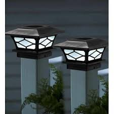Imperial Solar Powered Integrated Led Fence Post Cap In 2020 Fence Post Caps Outdoor Light Fixtures Solar Post Caps