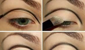 the trendy cut crease makeup eyes