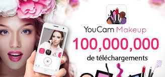 youcam makeup app hits 100 million