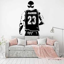 Wall Decals Stickers Home Garden Lebron James Quote Way To Succeed Wall Sticker Basketball Sport Decal Kid Room Adrp Fournitures Fr
