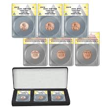 2019-W Lincoln Penny West Point Mint 3 Coin Set ANACS 69