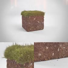 Realistic Minecraft grass block by ...