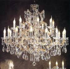 chandelier maria theresa chandelier