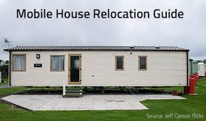how can you move a mobile home