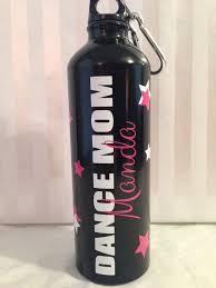 24 Oz Aluminum Water Bottle Dance Mom By Hannagraphics On Etsy 13 00 Aluminum Water Bottles Water Bottle Bottle
