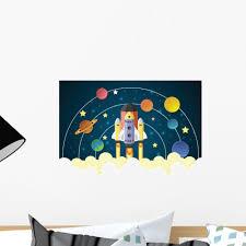 Start Up Concept Rocket Wall Decal Wallmonkeys Com