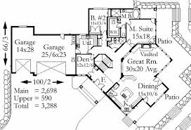 mountainside morning house plan lodge