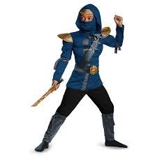 Ninja Classic Muscle Child Costume Blue Ninjitsu Lightning Master Jay  Ninjago Lego - Large - Walmart.com - Walmart.com