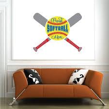 Proud Softball Mom Softball Quote Color Wall Decal Vinyl Decal Car Decal Vd003 25 Inches Walmart Com Walmart Com