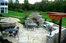 cost patio backyard stone outdoor