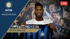 KEITA BALDE | LIVE PRESS CONFERENCE | Inter 2018/19 | #WelcomeKeita 🎙⚫🔵 -  YouTube