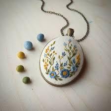 polymer clay jewelry necklace polymer