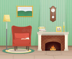 antique fireplace stock ilrations