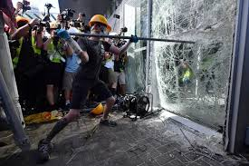 Hong Kong: A big day marred by violence, protests, East Asia News ...