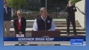 Georgia Governor Kemp Coronavirus News ...