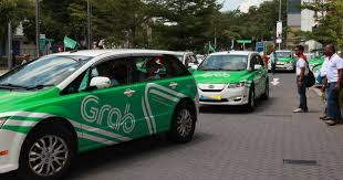 Grab is one of the fours main taxi booking apps in Cambodia